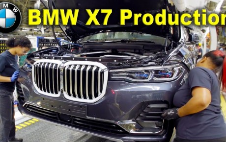 Video – How the 2020 BMW X7 luxury SUV is made