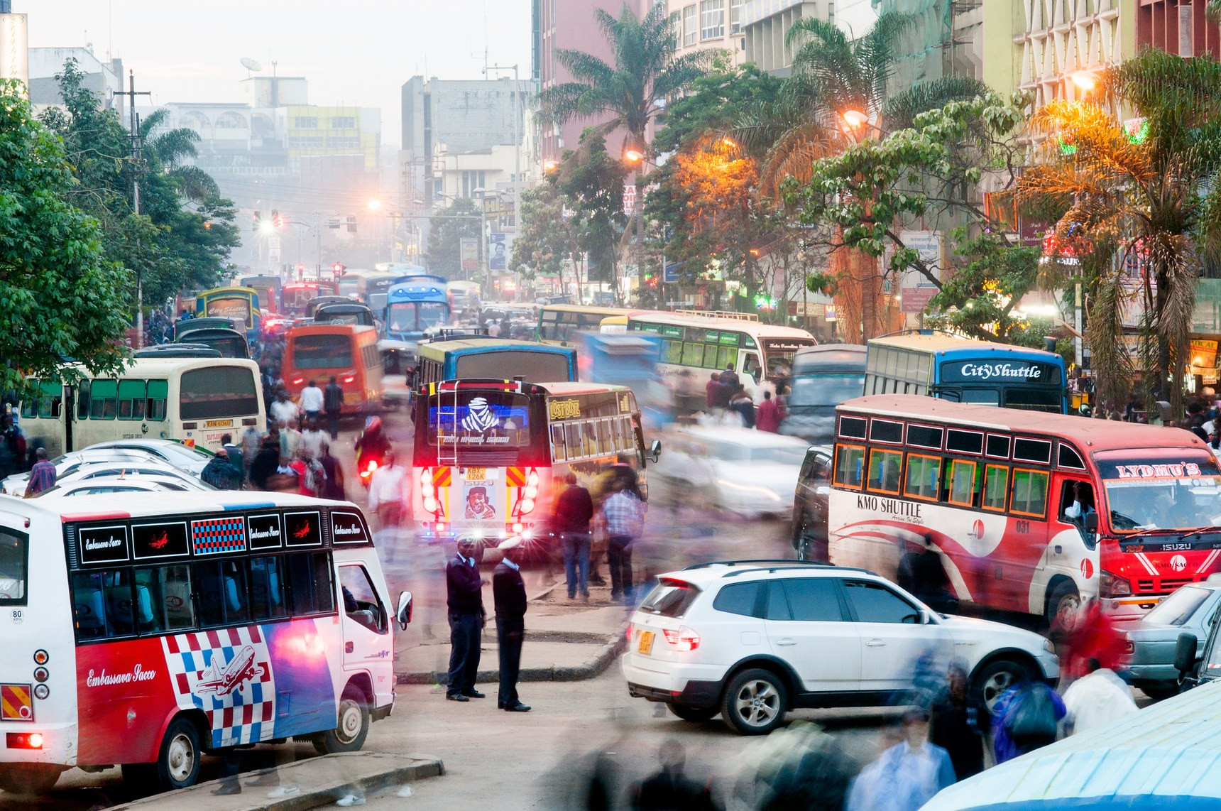 Driving in Nairobi is a test of will and one of many causes of high blood pressure