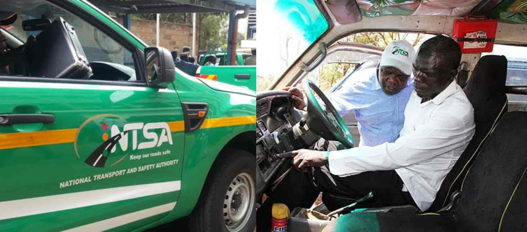 NTSA online motor vehicle inspection booking procedure
