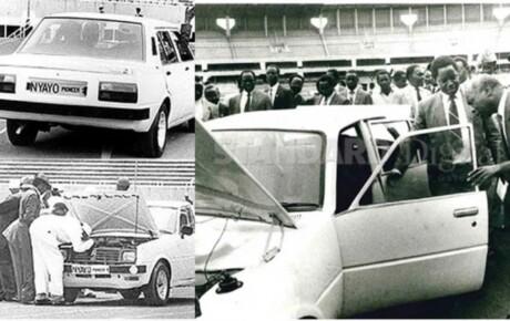 How 'Total Man' sabotaged Kenyan made cars under the Nyayo Motor project @KenyanTraffic