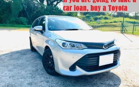 If you are going to take a car loan, buy a Toyota