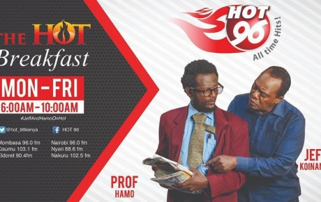 Hot96 FM #JeffAndHamoOnHot