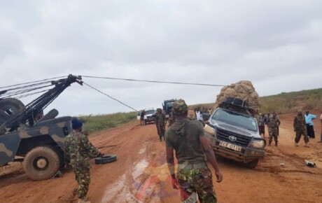 KDF has your back! Even when your are a Toyota Hilux miraa pick-up on a deserted Garissa-Hola road