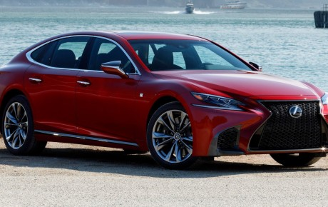 Lexus LS: one of the most engineered luxury sedans