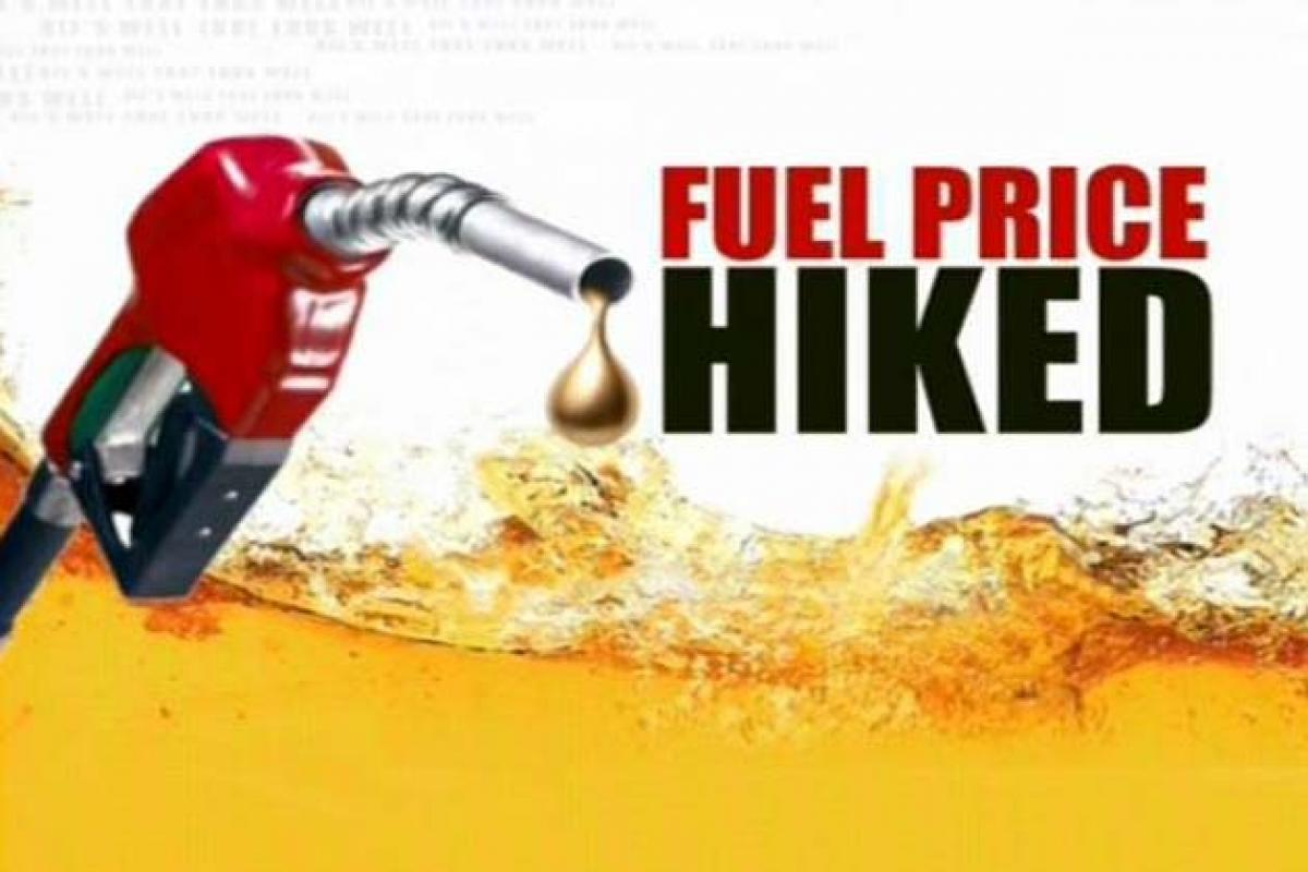 Petrol and Diesel prices go up again