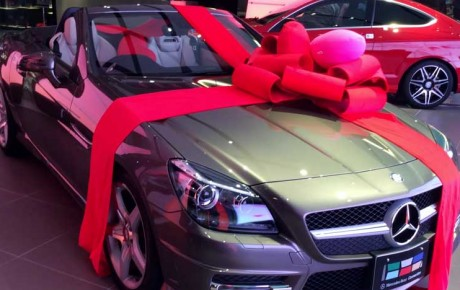 Mary Kilobi surprises bae Francis Atwoli with a brand new Mercedes Benz As Birthday Gift