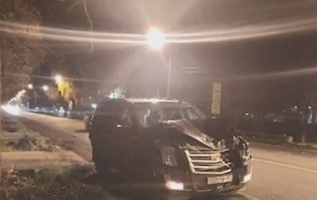 A drunk driving Cadillac Escalade SUV smashed and killed 2 lovebirds on a zebra crossing