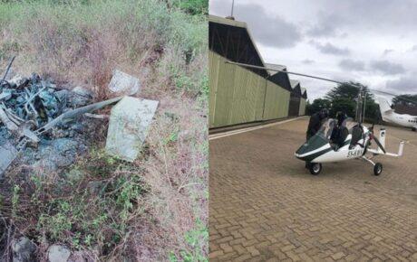 Chopper crashes in Isinya killing pilot