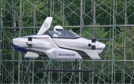At last we have a real Toyota flying car that you can drive