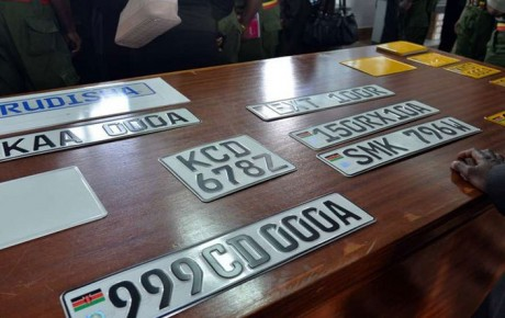 New digital number plates for all vehicles are coming in January to stop thieves and cartels