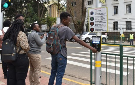 There's now smart zebra crossing saving lives in Nairobi CBD