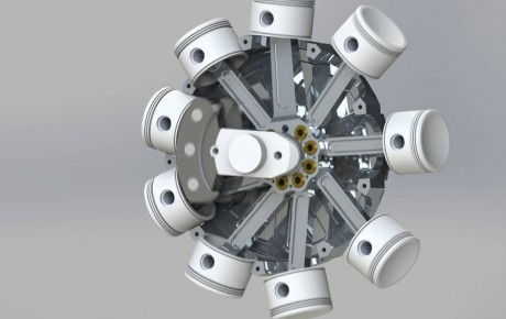 Video – How a Radial Engine is assembled