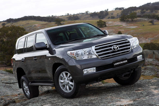Toyota Land Cruiser V8 review