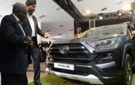 5th-generation Toyota RAV4 2019 unveiled in the Kenyan market