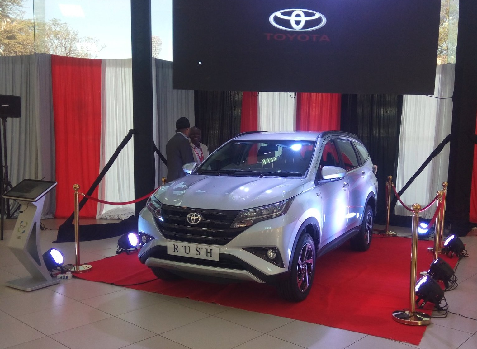 Toyota Rush 2018 Review 7-Seater costs Sh 3M