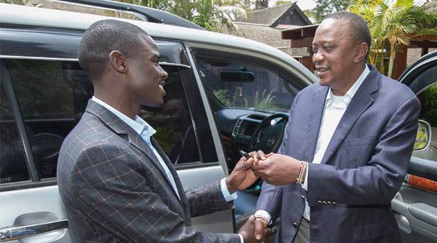 President Uhuru keeps his promise to Igembe South MP