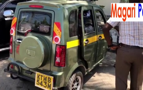 V8 – The luxurious tuktuk that has taken Mombasa city by storm(Video)