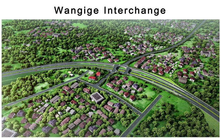 Nairobi Western Bypass stalls after residents reject the redesign of proposed interchange at Wangige Shopping Centre