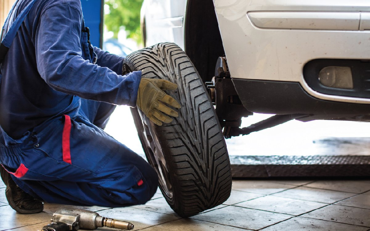 How do I know when my tyres are worn out?