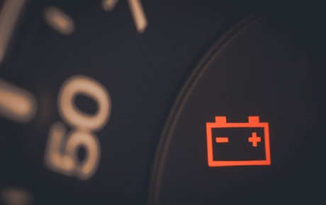 Does the alternator charge the battery when idling?