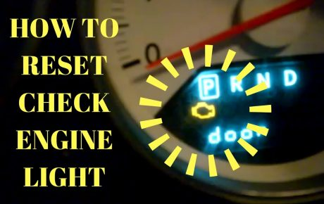 How to switch off the Check Engine light