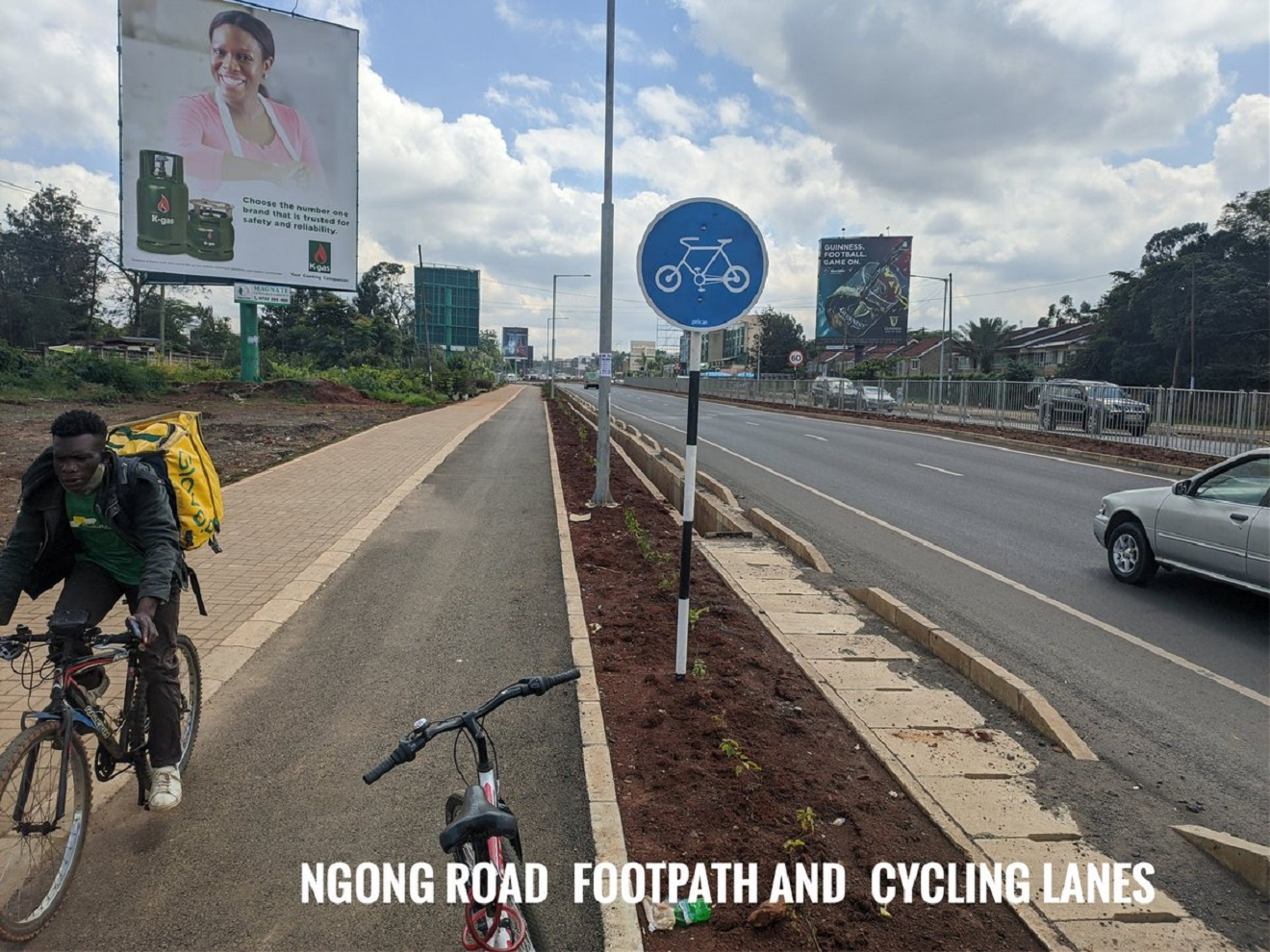 You will soon cycle in and out of Nairobi CBD without fear of being run-over @KenyanTraffic