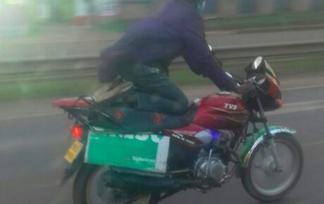The day President Uhuru Kenyatta came face to face with a gang of lawless bodaboda riders leaving him in shock