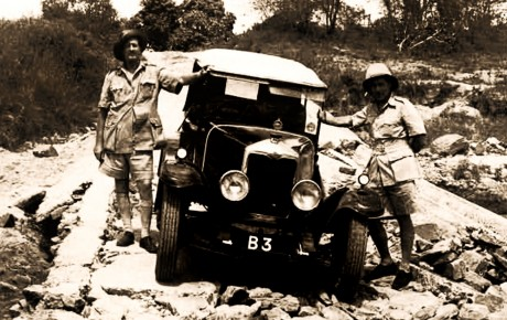 Did you know Galton-Fenzi became Kenya's first motorist to drive from Nairobi to Mombasa in January 1926 when the road, that today snakes all the way to county 001, was not even a dirt track?