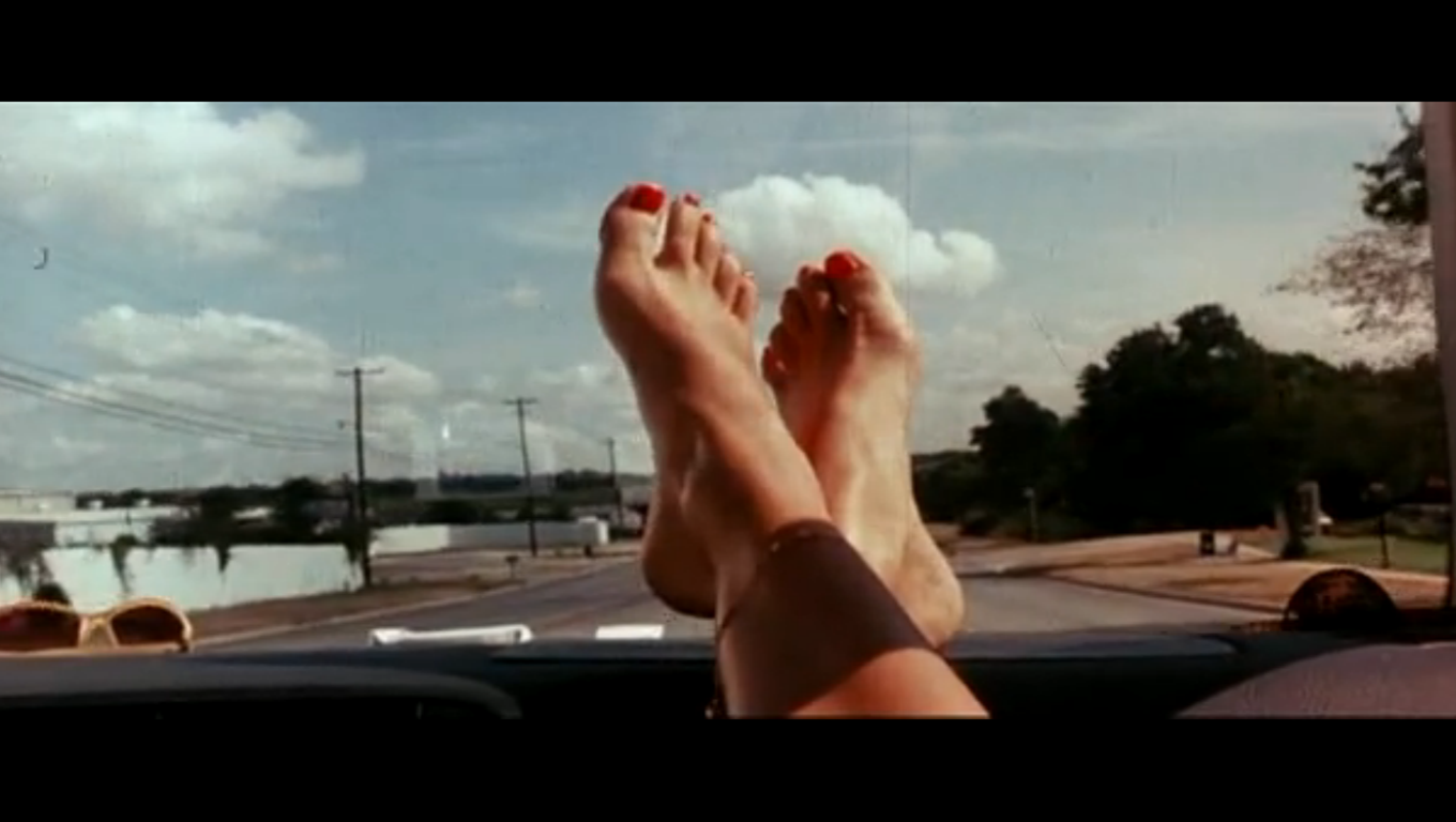 Is it ok to drive on bare feet?