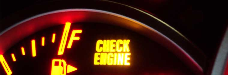 What does a flashing check engine mean?