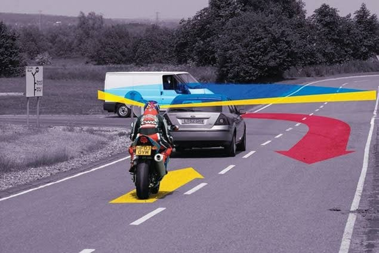 How a motorcycle rider can overtake safely every-time @KenyanTraffic