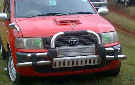 Are bullbars legal or illegal in Kenya?