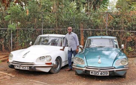 As early as the 1950s, Citroëns had power steering which was only available in Mercedes Benz and Volvos @KenyanTraffic