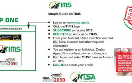How do I open an NTSA TIMS account?