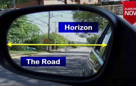 How to adjust your car's side mirrors to avoid blind spots