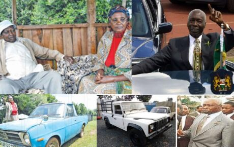 This couple unknowingly bought Moi's Land Rover, see what happened when they wanted to change the logbook