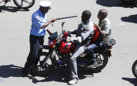 Pangani OCS sustained head injuries after he was run over by a bodaboda during curfew hours