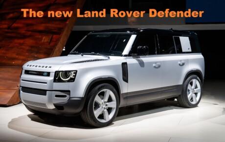 The New Land Rover Defender @KenyanTraffic