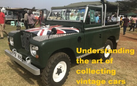 Understanding the art of collecting vintage cars @KenyanTraffic